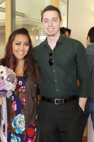 Friend's wedding in 2014